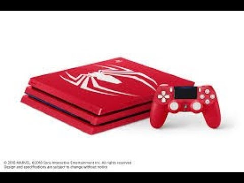 upcoming:-playstation-4-pro-1tb-marvel's-spider-man-limited-edition-console