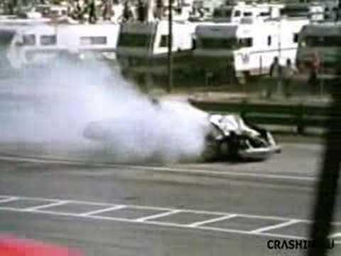 Bobby Allison 1976 Rockingham Crash