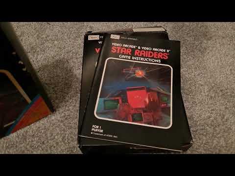 Star Raiders   Atari 2600   Unboxing   Enter The Arcade  