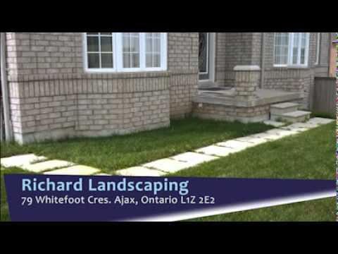 Richard Landscaping in Ajax, ON - Goldbook.ca