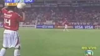 São Paulo x Internacional - Final Libertadores 2006- Gol GOALS - Melhores Momentos - Highlights
