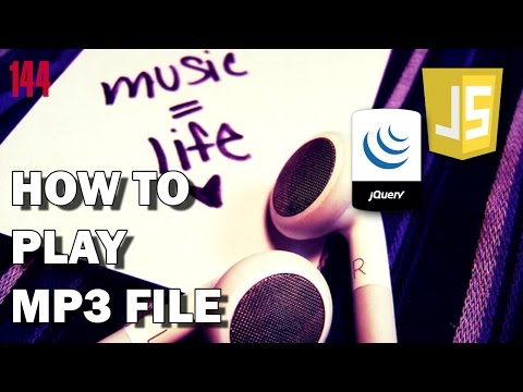 JAVASCRIPT/JQUERY How to play mp3 file