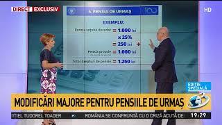 Lia Olguţa Vasilescu prezintă noua lege a pensiilor