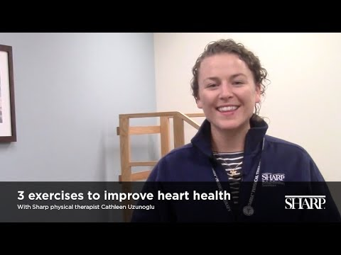 3 Exercises to Improve Heart Health
