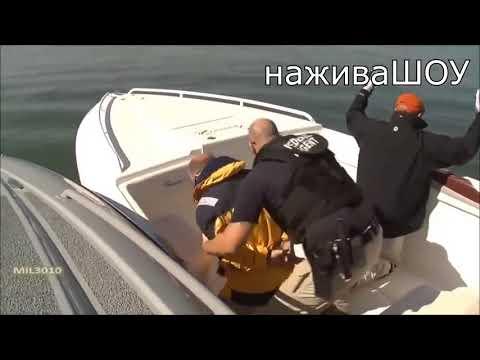 Жесткие зрелищные погони за браконьерами и катерами на воде и их задержания