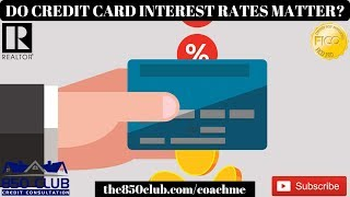 Do Credit Card Interest Rates Really Matter That Much? - Dave Ramsey,Financial Education, 2019