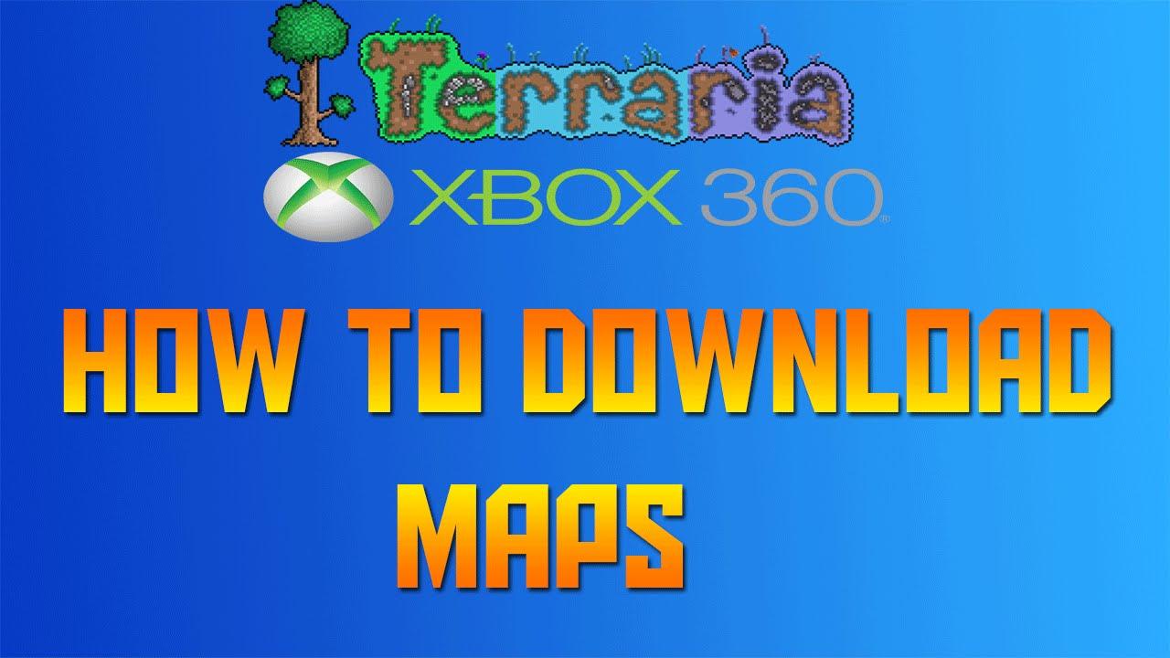 Xbox 360 terraria map download