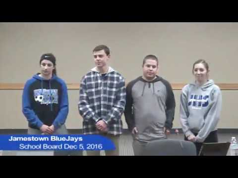 Jamestown School Board Dec 5, 2016