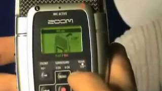 Use Instructions for Zoom H2 Recorder