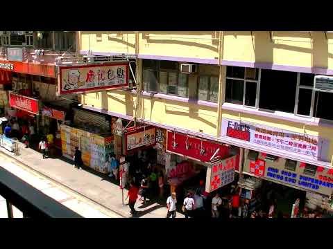 香港自由行 - 旺角東Royal Plaza帝京酒店新世紀廣場經洗衣街旺角道行人橋步行往女人街(通菜街)