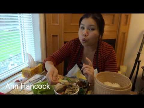 แจ่วบ่อง ปลาย่างกับแกงหน่อไม้ อาหารคนไกลบ้านกินแบบคิดถึงบ้านสุดๆๆ by Ann Hancock