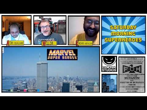 Classic Marvel Super Heroes RPG  - Saturday Morning Superheroes Episode 1   The Missing
