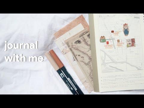 🍂 journal with me asmr - traveler's notebook Tokyo  | maiden manila