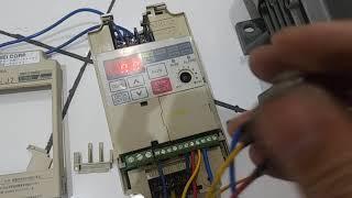 Yaskawa cimr-xcbcb 0p2 variador frecuencia vs mini 0,2kw