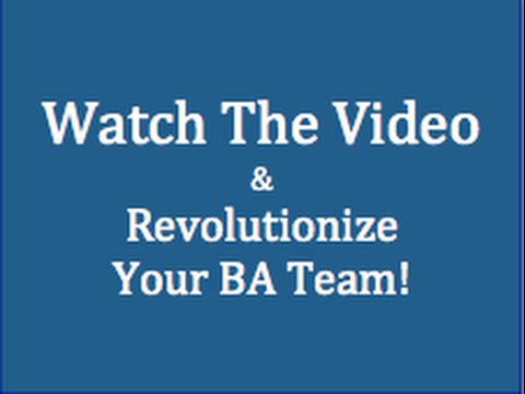 Business Analysis Portal for Training and Professional Development Demo Video