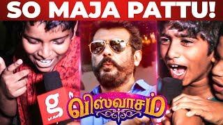 "Viswasam – Vettikattu ""So Maja Pattu"" | Thala Fans Mass Celebration"