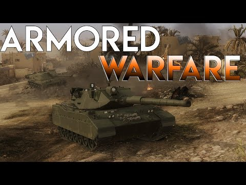 Giving Armored Warfare A Shot