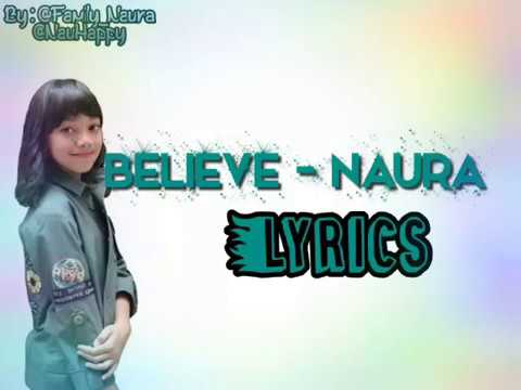 Naura - Believe (Nothing Can't Stop You Now)
