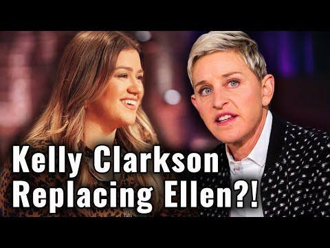 Why Kelly Clarkson is REPLACING Ellen DeGeneres