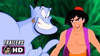 ALADDIN Animated Trailers (1992) Disney