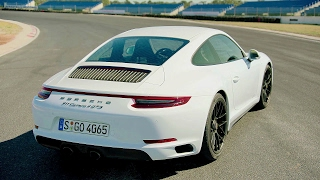 2017 White Porsche 911 Carrera 4 GTS - Awesome Drive 450 hp