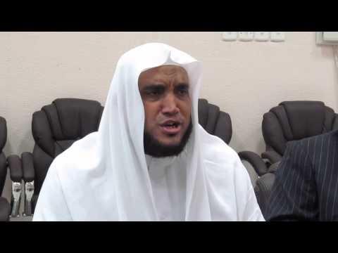 الشيخ أسامة التلال  سورة النور-  داخل ادارة التربية والتعليم بالمدينة المنورة -  يوم 8 4 2014