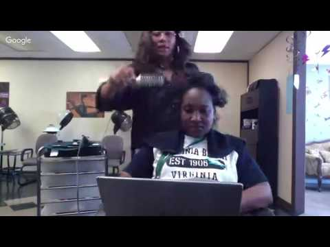 Do A Dominican Blowout With Me Full Tutorial In Salon