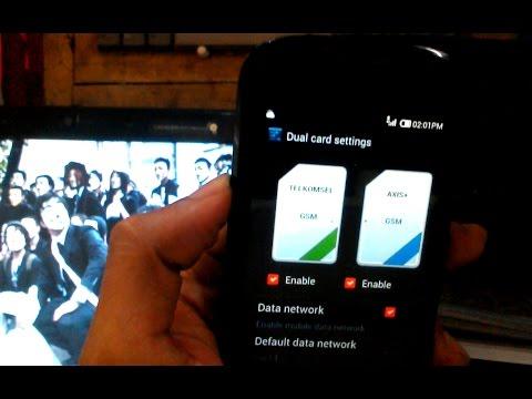 CARA CDMA JADI GSM ( DUAL SIM GSM ANDROMAX C )