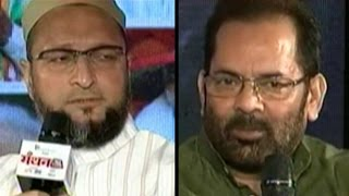 Naqvi Owaisi On Beef Ban Minorities At Manthan AajTak