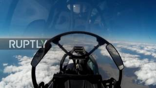 Russia: Brand-new Sukhoi-30 SM fighters join Black Sea Fleet in Crimea