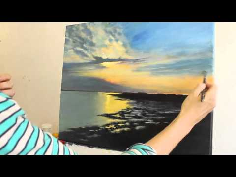 Sunset Painting Tutorial: Part 3