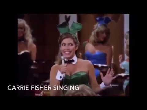 RIP PENNY MARSHALL Carrie Fisher PLAYBOY Sings MY GUY On LAVERNE SHIRLEY Hugh Hefner