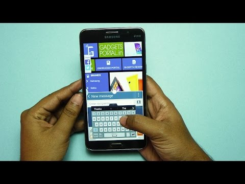 Samsung GALAXY MEGA 2 Unboxing & Hands on Review | Gadgets Portal