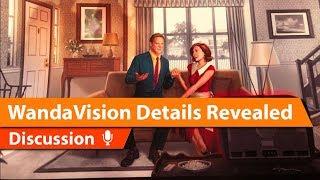 WandaVision Details & MCU In Depth Discussion & theories