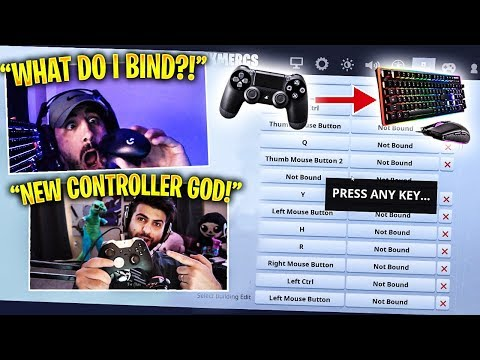 NICKMERCS Plays On MOUSE & KEYBOARD For The FIRST TIME! Feat. SypherPK