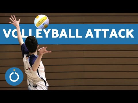 VOLLEYBALL TRAINING - How To ATTACK The Ball 🏐