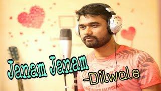 Janam Janam | Dilwale | Arijit Singh | Antara Mitra | Cover by Biki Roy