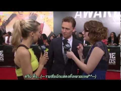 [ThaiSub][140413]Tom Hiddleston with Nikki and Sara Behind the Scenes at the MMA
