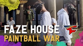 FaZe House: Backyard Paintball War