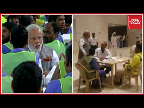 Modi Visits Qatar, Indians Workers Cry For Help In Doha