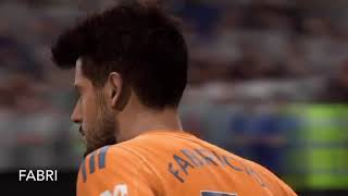 FIFA 19 Fulham Face Scans