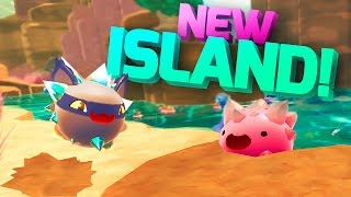 ALL CRYSTAL SLIME LARGOS & NEW ISLAND ZONE - Slime Rancher Update Gameplay - Slime Rancher Crystal