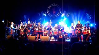 Highland Cathedral by The Red Hot Chilli Pipers feat. Arbroath RBLS Pipe Band 4 April 2009