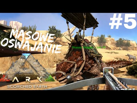 ARK Scorched Earth #5 - Thorny Dragon | Masowe Oswajanie