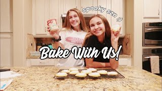 fall bake with me! // pumpkin spice cookies