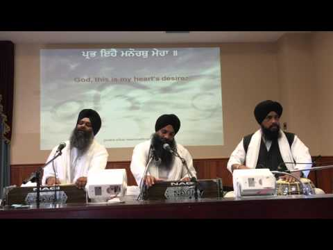 Kitchener Gurudwara #1 FULL  Bhai Gursevak Singh Sri Gangana