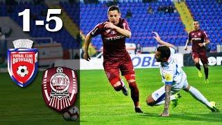 Rezumat: FC Botosani - CFR Cluj 1-5 (0-2)