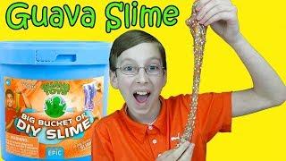 GUAVA JUICE SLIME BUCKET UNBOXING REVIEW | COLLINTV