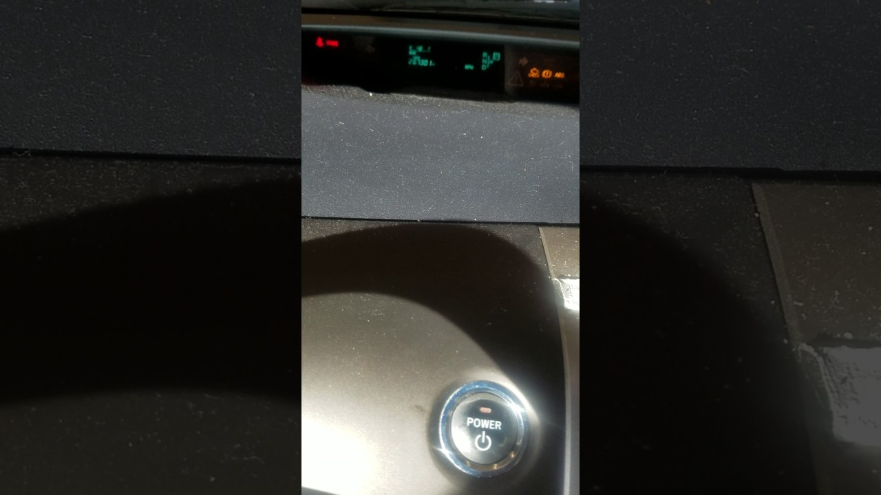 Reset 2006 Toyota Prius Oil Reminder Light