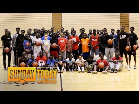 Refugees From South Sudan Living In Omaha United By Basketball | Sunday TODAY